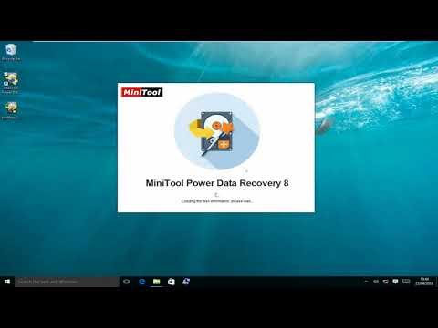 Raw Files Recovery -MiniTool Power Data Recovery v8.0