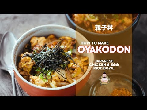 How to Make Oyakodon | Chicken & Egg Rice Bowl | Recipe | Japanese Home Cooking