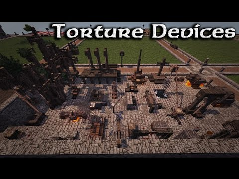 Minecraft: Medieval Torture Devices