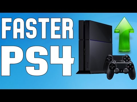 How To Make Your PS4 RUN FASTER