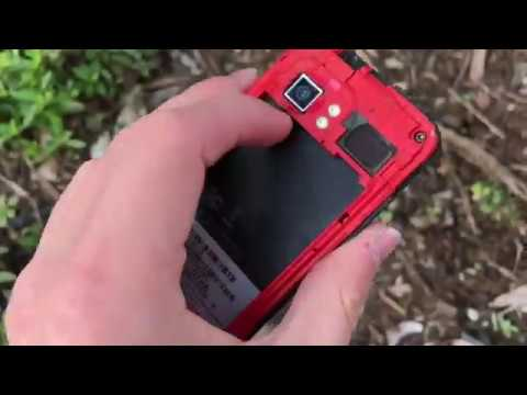 HTC Droid Incredible drop test