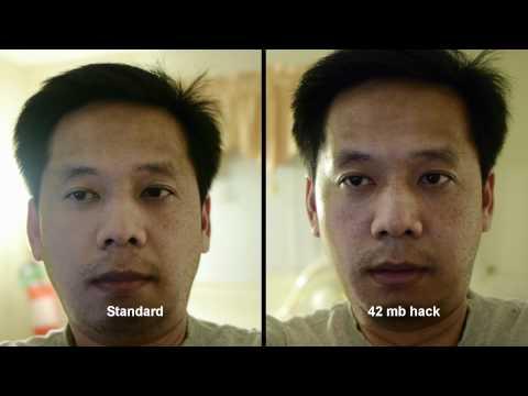 GH2 standard vs 42 mb hack 2