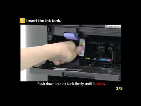 MAXIFY MB2320: Installing the ink tanks