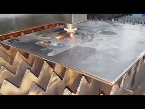 IPG 500watt Fiber Laser Cutting machine for 8mm carbon steel for ACCURL