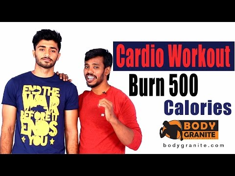 Cardio Workout - Burn 500 Calories in 11 minutes - Cardio routine at Home  in  India