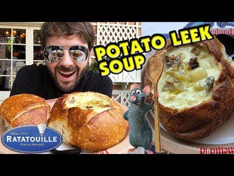 Pixar Fest Remy's Potato Leek Soup - Disneyland Royal Street Veranda