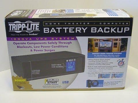 Unboxing Tripp-lite 1000 LCD UPS (Uninterruptible power supply) SMART1000LED UPS