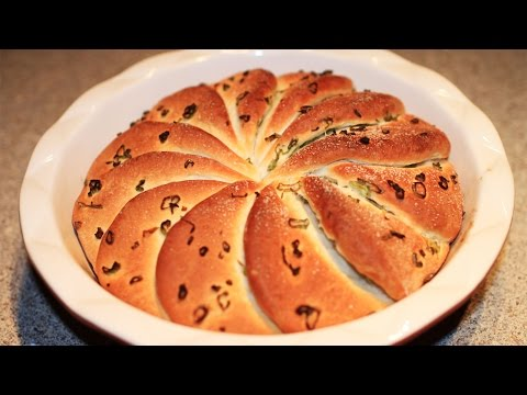 Sweet and Salty Butter Bread Recipe /甜咸奶油香葱面包