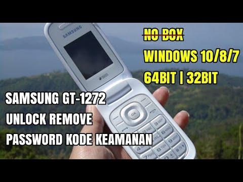 Samsung GT-1272 Unlock Password Lupa Kode Pengaman Mendukung Windows 10/8 64bit 32bit