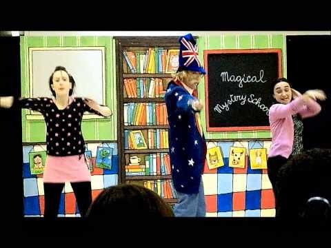 2012-2013 The magical English teacher 1A/1B
