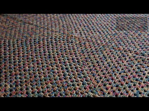 How to Crochet a Never Ending Afghan using 1 Strand