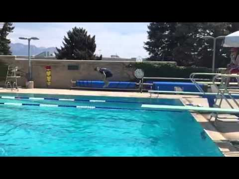 Nuh-Gneez Flying Watermelon Trick on Diving Board