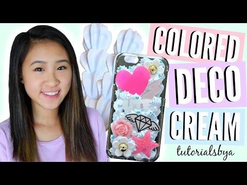 DIY Color Changing Deco/Decoden Cream | TutorialsByA