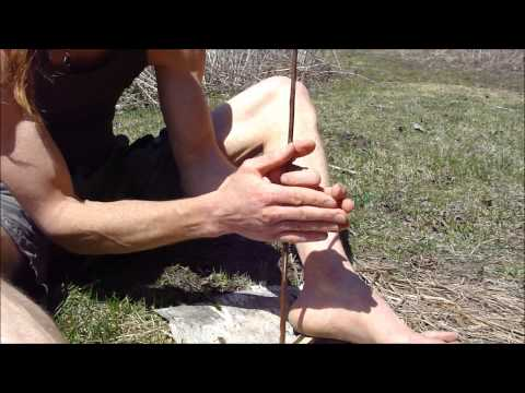 Hand  Drill Firemaking Beginner's Step by Step Guide