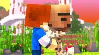 Minecraft Daycare - KISSING TINA !? (Minecraft Roleplay)