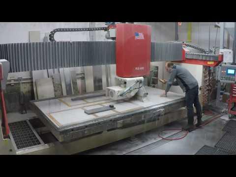 Cutting Quartz Slab