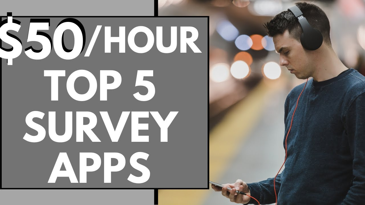5 Survey APPS TO MAKE MONEY ONLINE from your phone In 2021 | Survey Apps To Make Money