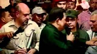 Chávez deja a sus ministros durmiendo en un refugio.mp4