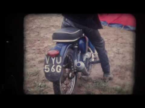 Jagdstaffel- motorbikes not aircraft- 1971-72 South London bikers BSA bantam