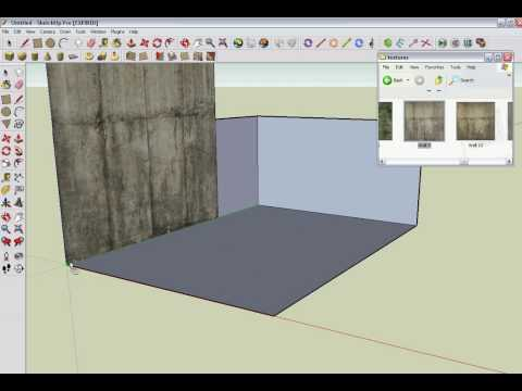 How to import texture to google sketchup
