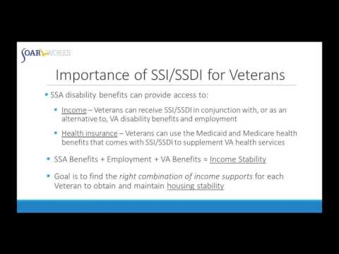 WEBINAR: Using SOAR to Access Social Security Disability Benefits