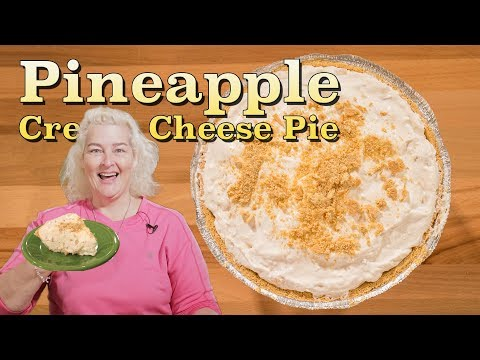 Pineapple Cream Cheese Pie