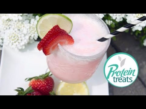 Low Sugar Strawberry Daiquiri - Protein treats By Nutracelle