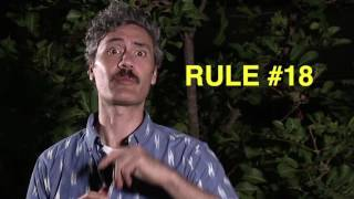 Rules For Surviving From Taika Waititi