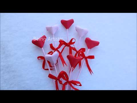 Easy way To Make 3D Paper Heart - DIY Paper Craft