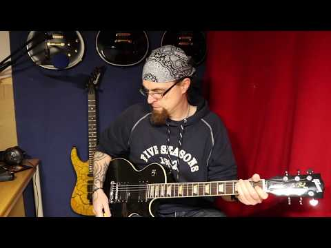 2x Gibson Les Paul Riffs - 2017