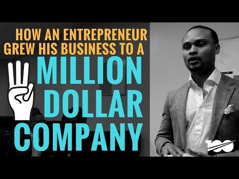 How An Entrepreneur Grew His Business To A 3 Million Dollar Company