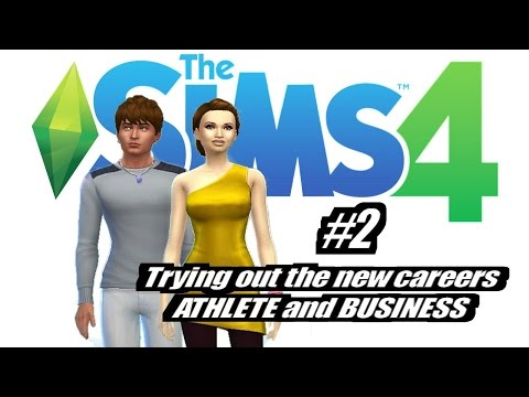 Sims 4: New Careers (Business & Athlete) EP2