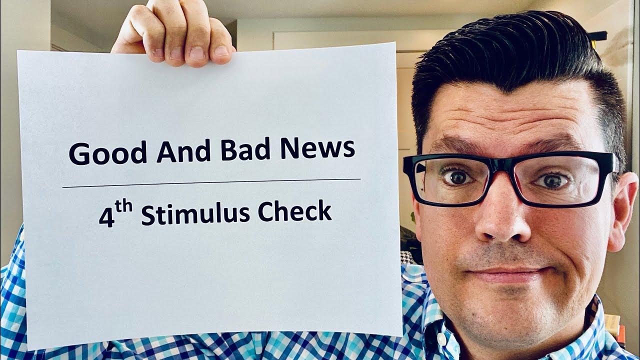 Good And Bad News! | Fourth Stimulus Check Update | $3600 Kids Stimulus Check Information