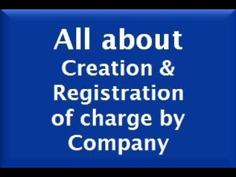 Registration of Charge by Company