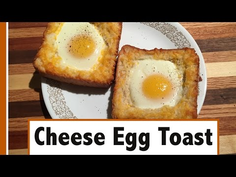 Cheese Egg Toast | Easy Breakfast How-To