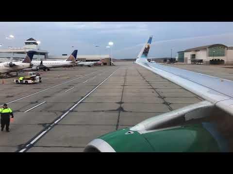 MUST SEE! Hilarious Frontier Flight Attendant David!