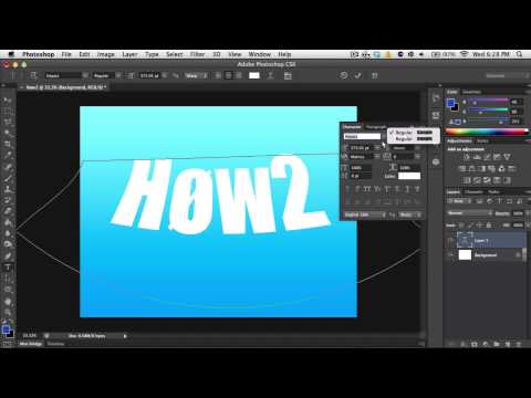 How to Use the Text Tool in Photoshop - Beginners Guide 2013