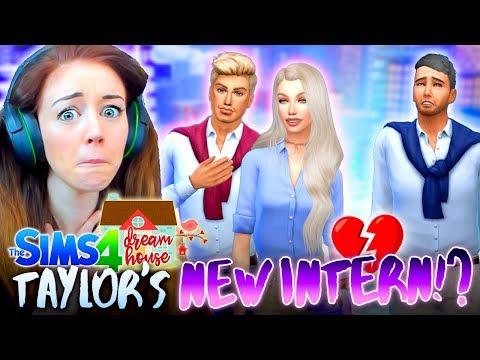 😘TAYLOR'S FLIRTY NEW INTERN!?😘(The Sims 4 #77!🏡)