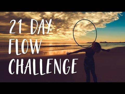 21 Day Hoop Flow Challenge  : Details below