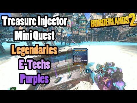 Treasure Syringes! Legendary items, Etechs, and Purples! Head Hunter