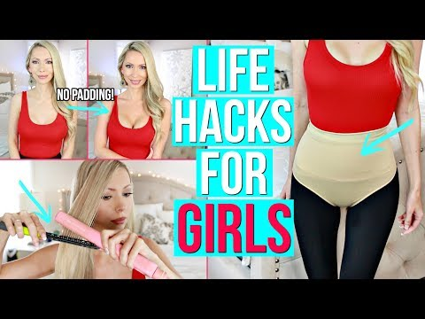 12 Life Hacks & Gadgets Every Girl Needs!