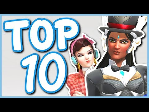 Overwatch - TOP 10 BEST ANNIVERSARY SKINS