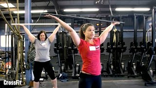 L1 Instruction: Shoulder Position in the Overhead Squat