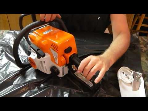 Stihl MS 180 C-BE review part 2