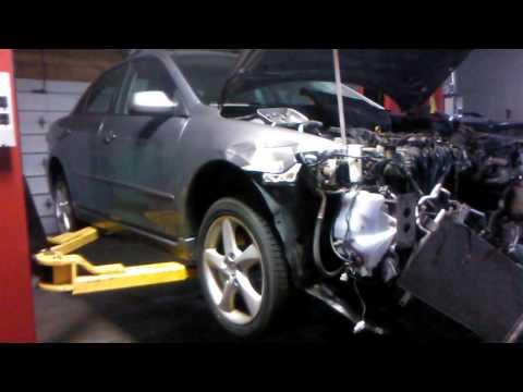 Mazda 6 2006 radiator replacement