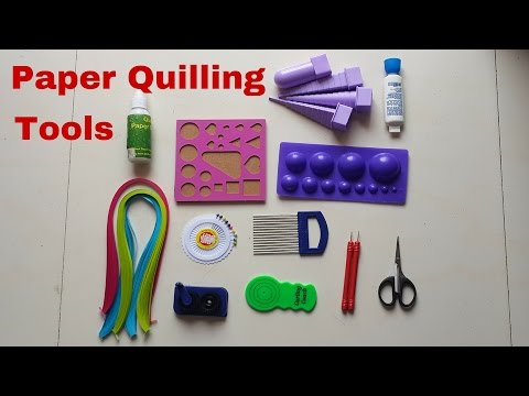 How to Use Paper Quilling Tools (Tutorials with Examples)