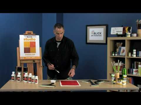 Liquitex Varnish Application Tips & Techniques