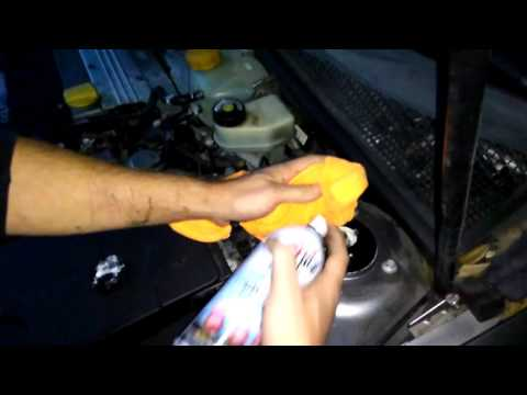 how to fix noise from struts, 2003  saab 9-3 turbo part 1