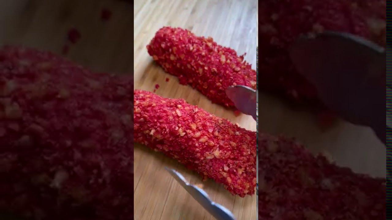 Hot cheetos 2x spicy ramen spring roll (Jori's Spring Roll)