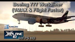 X-Plane 777 FMS takeoff calculation - PakVim net HD Vdieos